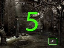 Once you enter the sewer, you'll notice a shiny object on the floor on the lower right-hand side. It's another ring.