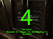 Once you have all 3 parts of the code, you can open the door to the Special Club.