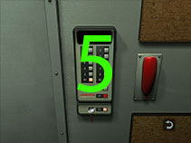 Go to the elevator and use the key so that you can access level B3.